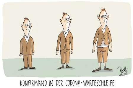 konfirmand corona warteschleife